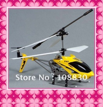 SYMA Original 107 S107 S107G Metal 3Ch 3 CH gyro Gyroscope RC Mini Helicopter gift toy