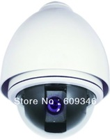 27X Zoom Camera optional economical low Speed Dome camera RS485 128 Presets  and camera 480TVL