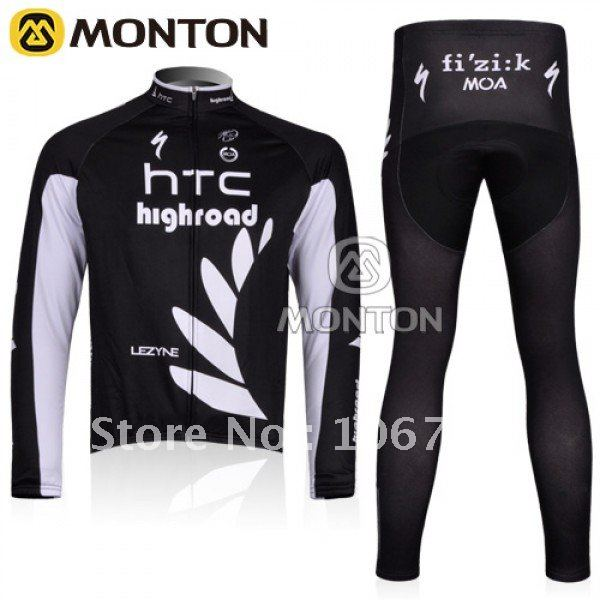 Hotsale New 2011 Tour De France Thermal Fleece Winter Long Cycling Jerseys and Pants,Cycling Wear,Cycling Clothing,Cycling Kits(China (Mainland))