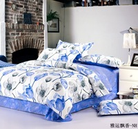 cotton printed bedding  home bedding(4 pcs) with free shipping