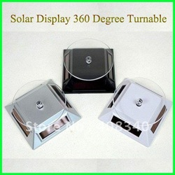 Wholesale! Solar display,Jewelry or mobile display,stand digital base Solar Showcase 10pcs/lot Free shipping(China (Mainland))