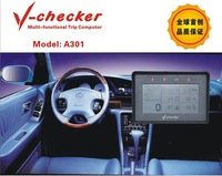 Wholesale-Free shipping The newest products for car diagnose car repair Trip Computer A301 V checker