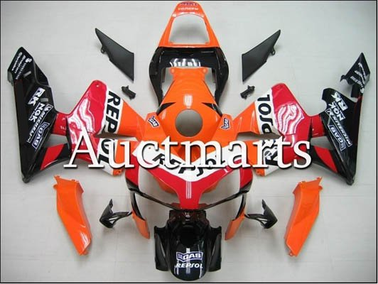 Fairing kit CBR600RR F5 2003-2004 with free Windshield ---NO.06 repsol(China (Mainland))