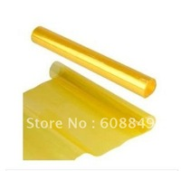 Yellow Headlight Fog Light Tint Vinyl Film Sheet Wrap