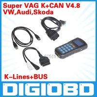Free shipping super vag Mileage programmer 4.8