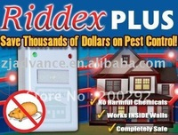 Free Shipping Wholesale Pest Repeller Aid Riddex Plus Riddex Electronic Control 10pcs/lot