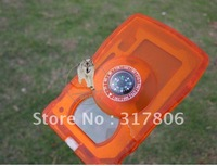 EMS Free shipping compass multi-function saber card Wholesale price