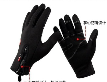 Hot sale Free shipping Blue bicycle/racing/motorcycle gloves,Cycling gloves,ski gloves
