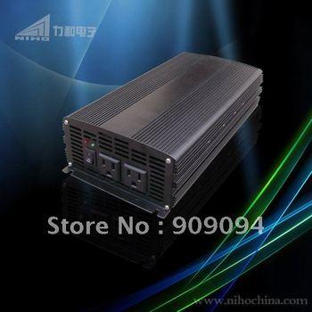 factory sell! 1200watt true sine wave solar Power Inverter 24Volt DC To 220 Volt AC (CE&RoHS)