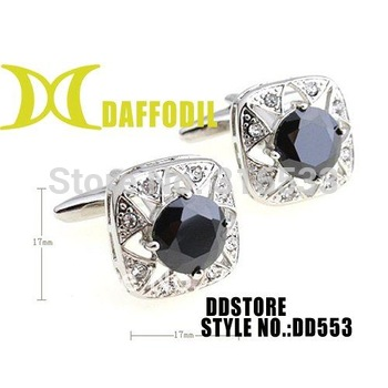 Wholesale Cuff links High quality cufflink Birthdate gift husband present Exquisite cufflink Elegant cufflink supplier DD553