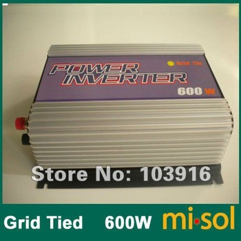 600W Grid Tied Inverter (DC10.8-30V to AC120V), for photovoltaic solar system PNP-SUN-001