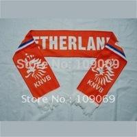 "Free shipping  Netherlands national football team orange soccer scarf size 58""*6.63"" / football team neckerchief"