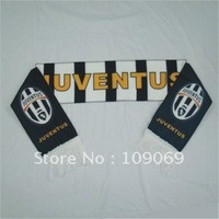 """Free shipping  Juventus scarf size 58""""*6.63"""" / football team fan scarves / fans souvenirs  dropshipping"""