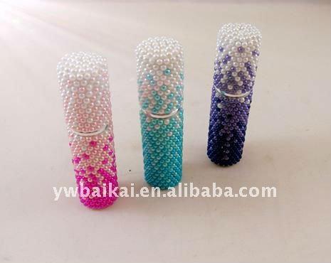 Wholesales 5ml pearl woman beautiful perfume bottle(China (Mainland))