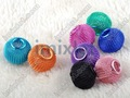 Fashion Mixed Color 18mm Basketball Wives Mesh Bead Spacer Beads Fit Charm Bracelet Earrings 100pcs [bd2*100]