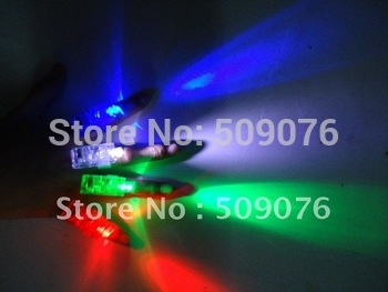 Free shipping 40pcs/lot   4.5*1.5*1.5CM led flashing finger lights laser finger beam for party supplies