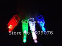 Free shipping 120pcs/lot (30sets)4.5*1.5*1.5CM led finger lights laser finger beam for party supplies