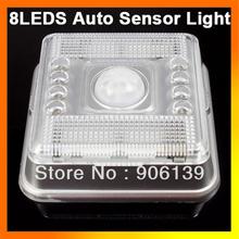 8 LED Spot PIR Motion Detector Auto Sensor Energy Saving Light(China (Mainland))