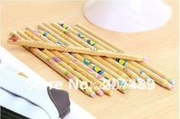 Christmas Creative Pencil Type Eraser Stationery ONE Wooden Pencil Eraser Kids Party Favours Fruit Core