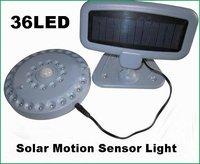 Solar UFO Power 36 Led PIR  Motion Sensor Light+36 LED Bright Bulbs+Solar shed light