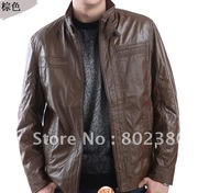 hot sale free shipping fashion casual men's jackets  fashion  jacket waterproof high neck slim jacket