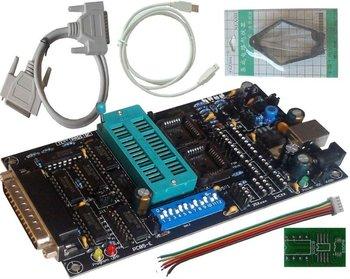 SPI 25xx PCB5.0E Willem EPROM programador, BIOS009 PIC , apoyo 0.98d12 , clip promoción adaptador PLCC32 + SOIC de 8 pines