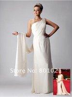 The 81st Oscar Nancy O'Dell One-shoulder Evening Dress / Prom Dress