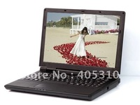 Hot sell Laptop, F4000  14 inches, 2GB DDR2 Memory, 320GB HDD, Dual core T4500 CPU