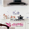 FREE SHIPPING Wall Stickers,2pcs a lot happy kitchen Wall Sticker Good Quality DIY Decoration Fashion Wall Sticker Item No958