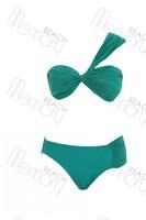 High quality! fashion green swimwear with lining,sexy bikini with cup, size S/M/L, BK1003