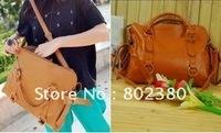free shipping ladies fashion bag/ladies' PU shoulder bag Fashionable handbag wholesale and retail