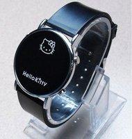 Free Shippping Promotion Watch Hello Kitty Watch Led Watch Modern Watch Quartz watch Fashion Watch Wristwatch 10pcs
