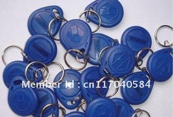 Free shipping 125KHz RFID key Tag,RFID Proximity key fobs,ABS Key tag  for access control 100pcs/lot