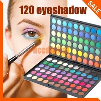 Pro 120 Full Color Eyeshadow Palette Eye Shadow Makeup Free Shipping