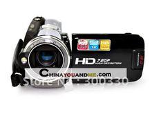 Digital camcorder ,digital camera 16MP 3.0 inch display 8x zoom 720P resolution HDV-P75 free shipping