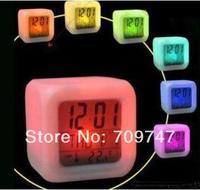 Colorful 4-side clock alarm clock