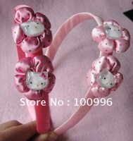 Free shipping mix order $15 hello kitty loverly gril hair band children Hair accessories 6pcs/ a lot-N6 (1)