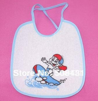 B 10pcs/lot Free Shipping Wholesale Infant Saliva Carters Baby Towel Waterproof Cotton Dental Baby Bib Kids Gift set