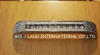 Free shipping 96mm hole spacing zinc alloy crystal glass bedroom door handle/furniture handle