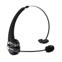 10 pcs Slim Black Wireless Handsfree Bluetooth Headset headband headphone earphone with micphone mic