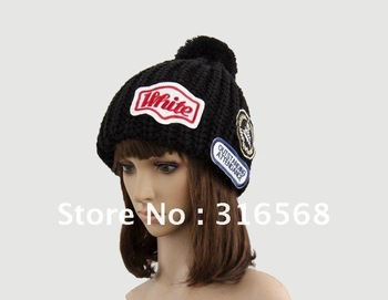 New Hottest Sale,wholesale-8pcs/lot woman wool knitted cap lady fashion warm autumn winter winter hat,free shipping