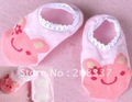 Hot selling! 30 pairs/lot free shipping wholesale fashion baby floor boat socks baby anti skid socks-Cute design!