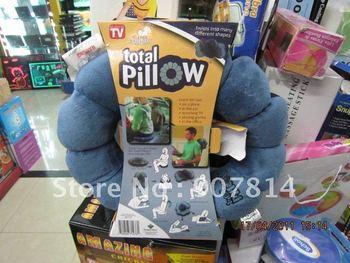 Total Pillow Versatile Neck & Body Pillow 50pcs/lot EMS free shipping