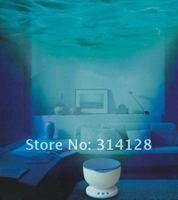 6PCS Novelty Roman LED Ocean Wave Projector projection Pot Lamp Light with Speaker