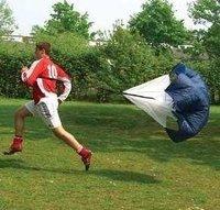 50pcs/lot Training Parachute 56'' Speed Chute Running Umbrella Free shipping+Wholesale
