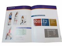 2015 custom design full color 12 pages magazine / catalog printing