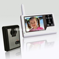 3.5'' colour wireless video door phone video door bell
