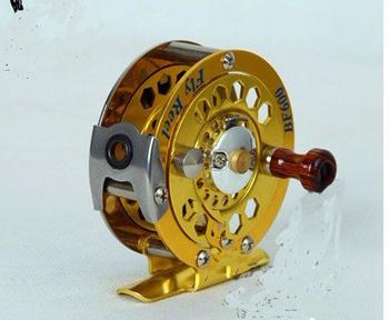 pure alloy fly fishing reel\ wheel \swivel free shipping