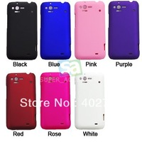 Plastic Rubberized Rubber Hard Case Cover Skin for HTC Rhyme / ADR6330 / S510b / G20 Free Shipping