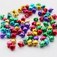 300pcs Colorful DIY Jingle bells Pet bells Decoration bells Mixed color 6mm 8mm 10mm free shipping